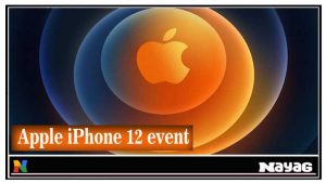 Apple iPhone 12 event on October 13
