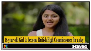 Britain's High Commissioner for one day